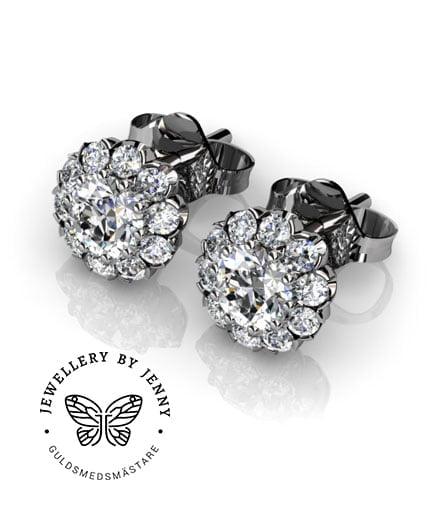 diamantörhängen morgongåva