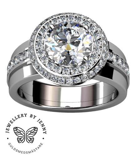 haloring diamanter